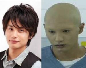 「無痛」ハゲ・スキンヘッド役イバラ&中村蒼(なかむらあおい)