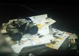 ドラマ「無痛みえるめ」佐田要造の車から高島の写真