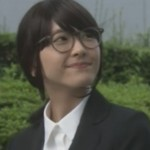 (新垣結衣・ガッキー)掟上今日子さんの黒髪のコスプレ姿の画像集1