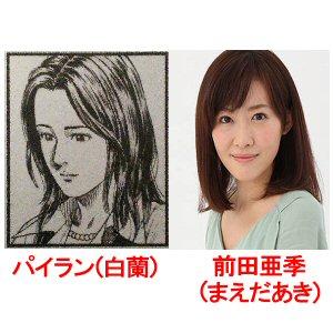 パイラン(白蘭)と前田亜季(まえだあき)の対比画像
