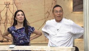 2015年12月3日放映NHKの「総合診療医 ドクターG」阿藤快さんの画像