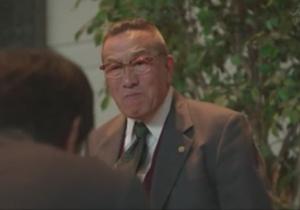 下町ロケット1話、田辺弁護士(役者:阿藤快)が顧問契約を断る。