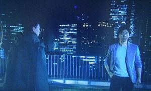 ドラマエンジェルハート8,9話夜のビルの屋上でのリョウとカリートとの回想シーン