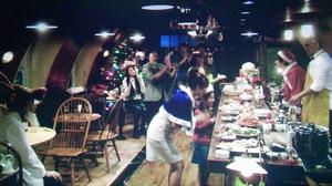 エンジェルハート9話最終回、みんなでクリスマスパーティー!