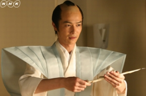 2004年大河ドラマ「新選組!」新選組の総長、山南敬助の役を演じる堺雅人