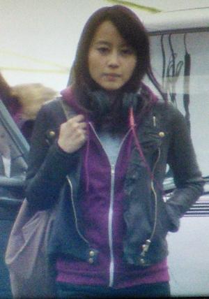 ヒガンバナ堀北真希の衣装-黒色ライダースジャケット革ジャン1