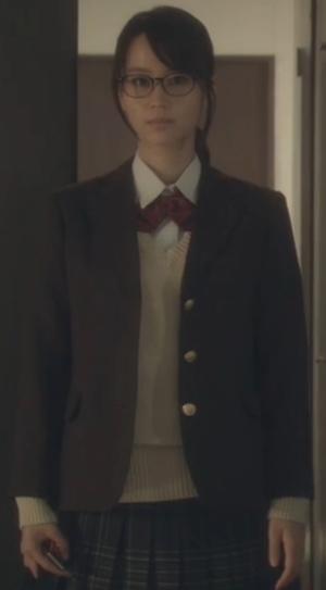 ヒガンバナ来宮渚(堀北真希)のコスプレ衣装-高校ブレザー制服画像2