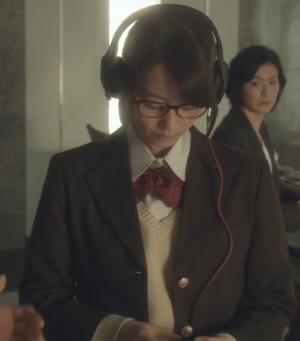 ヒガンバナ来宮渚(堀北真希)のコスプレ衣装-高校ブレザー制服画像4