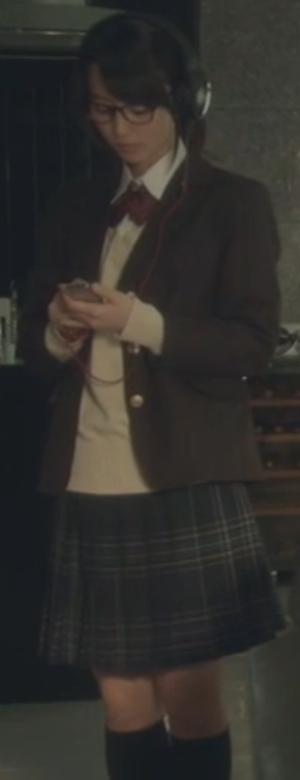 ヒガンバナ来宮渚(堀北真希)のコスプレ衣装-高校ブレザー制服画像5