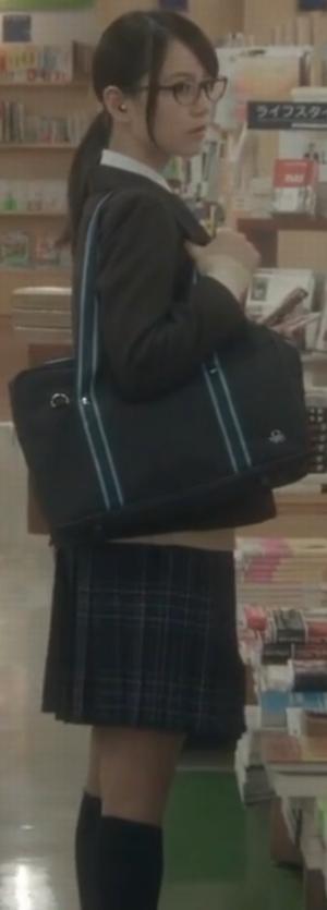ヒガンバナ来宮渚(堀北真希)のコスプレ衣装-高校ブレザー制服画像10