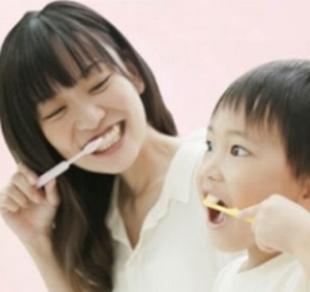 歯磨きは親子で頑張ろう。子供のために!